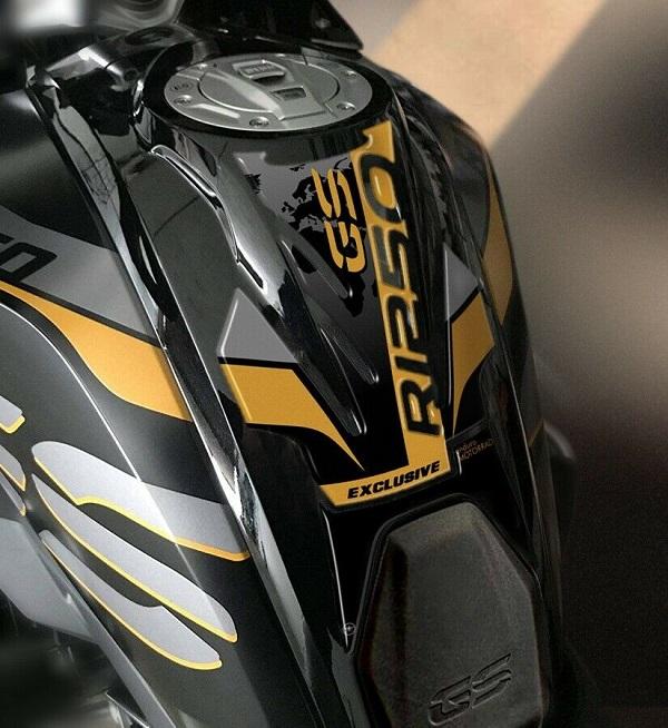 Paraserbatoio nero compatibile con Ducati Panigale 959