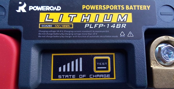 batteria litio poweroad 2